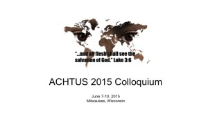2015 Colloquium Logo